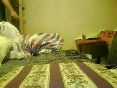 Straight guys feet on webcam #36