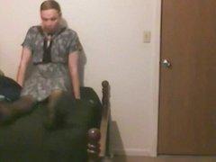 sissy playing