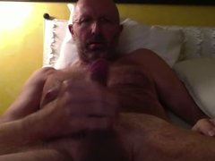 italian mature man cums