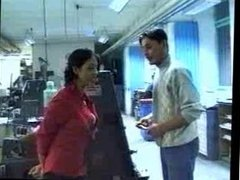 Indian - Boss lady blows and fucks worker