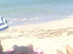 Cream Time at Beach, Alcudia Bay, Mallorca