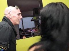 David Mistral arrasa en La Mansion de Nacho Vidal