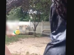 BBW With MASSIVE Juggs does the Ice Bucket Challenge