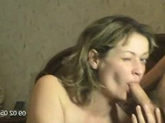 Hot wife has oral sex