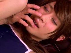 Hanasaki Yuu self facial