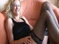 German Slut Fist Herself