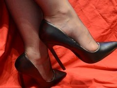 Feet in Nylon - Video 7