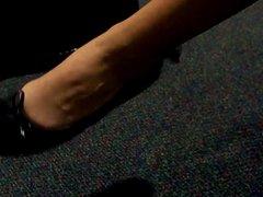 Veronica black flats shoeplay