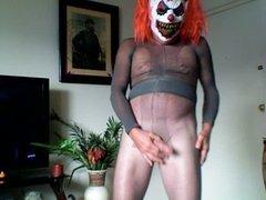 kinky pantyhose clown
