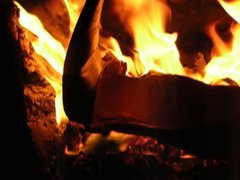 Heels in fire!