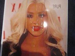 Christina Aguilera cum tribute
