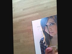 Cumtribute for xhamsterusers with shoot in Eyes