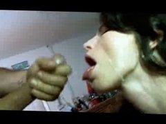 Skinny Amateur Throats and Fucks Huge Cock 03 - D0c