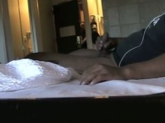 Maid caught me jerking off again