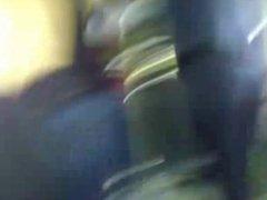 Nice girl in leggings begging to be encoxada