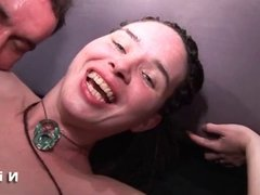 Young hairy french girl hard anal pounded