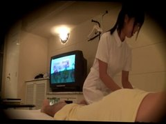 Spycam recoed in massage part.4