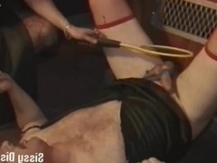 I'll dress you as a sissy and whip your ass