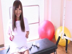 Workout Girl Suzu Minamoto Works Her Pussy With Toys