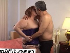 Julie is a ravishing BBW redhead with lovely large tits