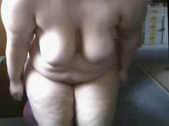 Fat BBW Teen GF masturbating her Wet Shaven Pussy