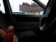 wichsen im auto