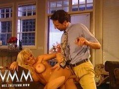 MMV Films Busty Blonde Mature enjoys a good fuck