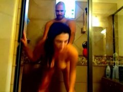 Hot Babe gets Fucked in Shower