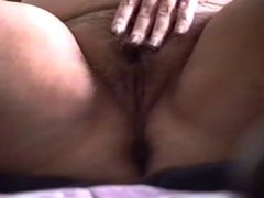 Cumming inside of my BBW after she makes herself cum