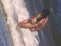 hot spanish beach body spy, hairy crotch shot 154