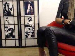 Full leather girl
