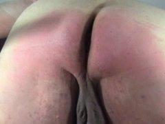 Self spanking 5 - Slow motion