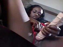 Big Titties Black Girl Jade Fire Show Off Her Goodies