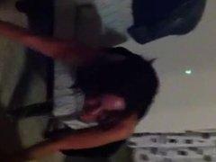 Raven Darkholme acting tipsy