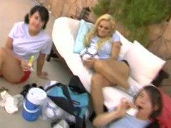 Monica Mayhem Orgy By Pool