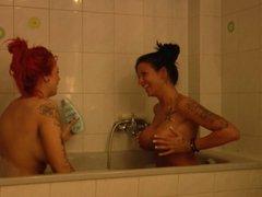 Amy Red und Jordan Night privat