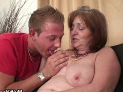 NOT son in law doggystuled busty granny