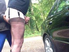 masturbation en public