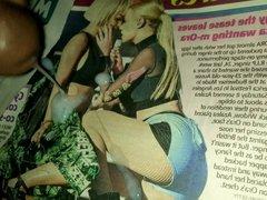 Iggy Azalea and Rita Ora cum tribute