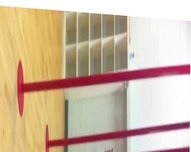 Jessica Szohr pole-dancing practice