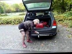 Strange Incertion Granny's secret