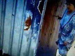 Grannies in the toilet! Amateur mixed! (hidden cam)