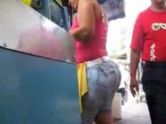 Candid street booty compilation