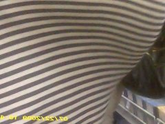 xl ebony butt in line hidden cam