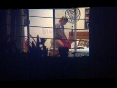 Spying my teen neighboor