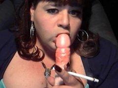 BBW Sissy Diane Want's Real Cocks To Smoke
