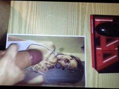 Lauren Cohan Celebrity Cum Tribute - Nice load of cum on her
