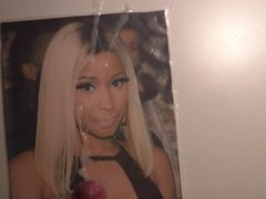 Nicki Minaj Cum Tribute