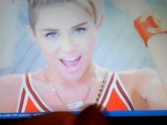 Miley Cyrus Cum Tribute Part 4