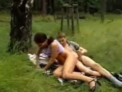 Teen Couple Outdoor Fuck